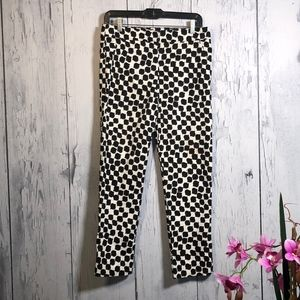 Trina Turk Slim Ankle Cropped Pants Sz 4 NWOT